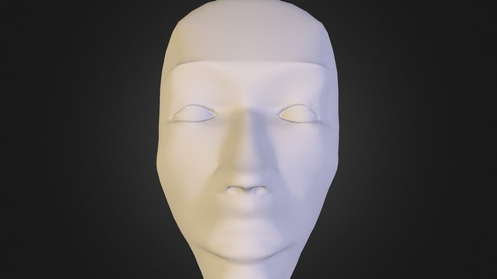 New Face Test 3D Model