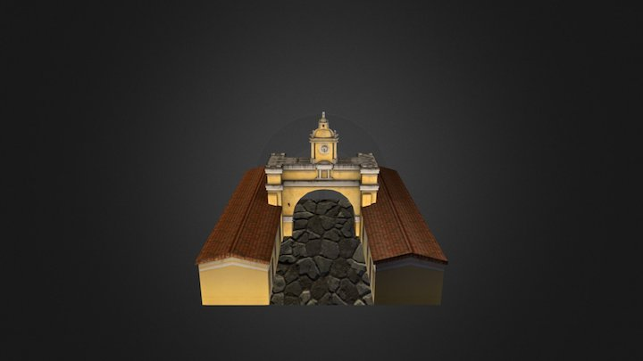 Arco Santa Catalina (Guatemala) 3D Model