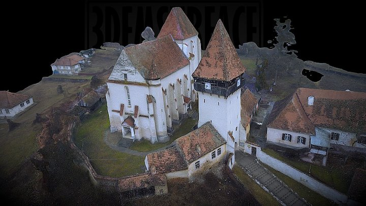 Fortified Church -Bazna 3D Model
