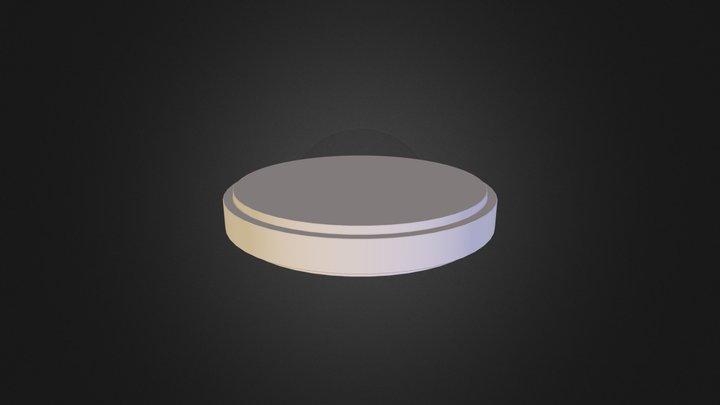 Puck Diffuse 3D Model