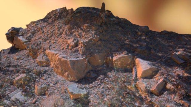 Mountain Ground 3D Model