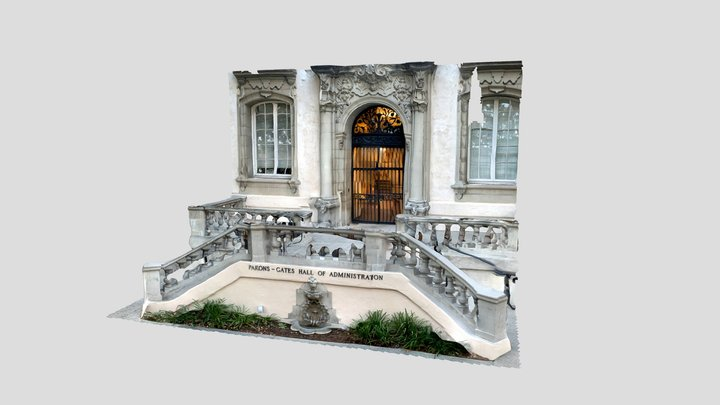 Administration Hall at Caltech -- LiDAR iPad 3D Model
