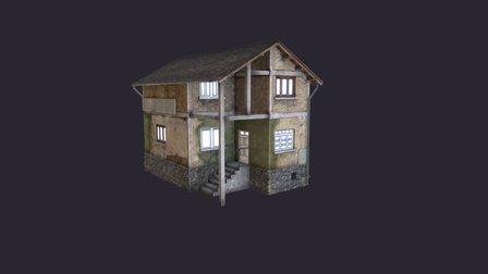 Balkan House 3D Model