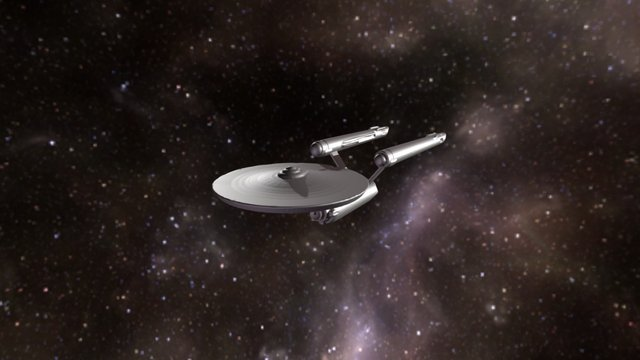 USS Enterprise NCC-1701 3D Model