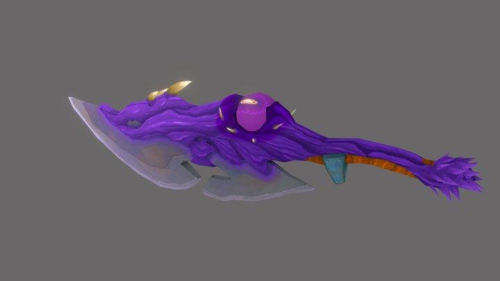 Corrupted sword 3D Model