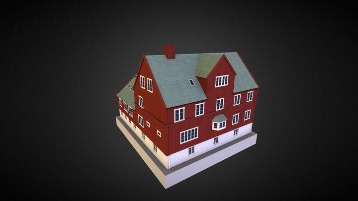 Tinganes Building 01 3D Model