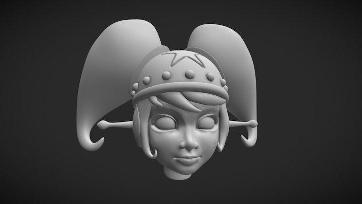 Stella Head HP (sculpt) 3D Model