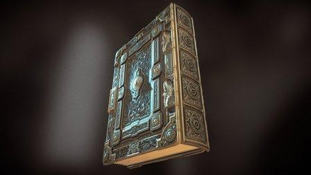 Ornate Book 3D Model