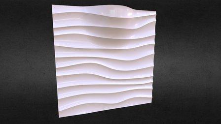Волна LED 3D Model
