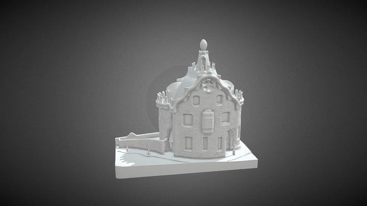 Casa Del Guarda Impresion 01 BINARIO 3D Model