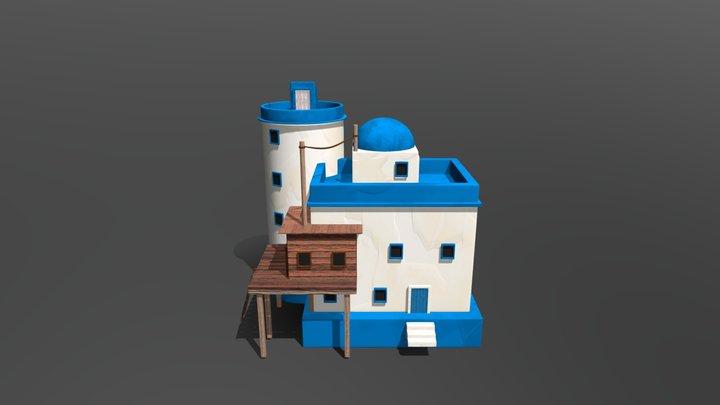 Méditerranée House 3D Model