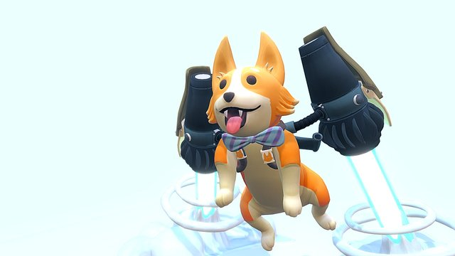 🐺So much Corgi!🐺 3D Model