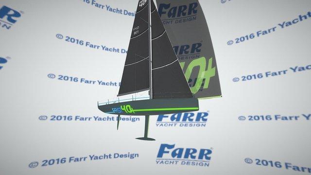 Farr Yacht Design #801 Fast 40 Plus 3D Model