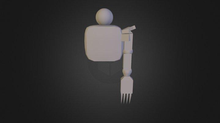 Flying Splor 3D Model