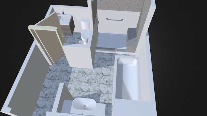 Master Bathroom - Design Construction-nyc 3D Model