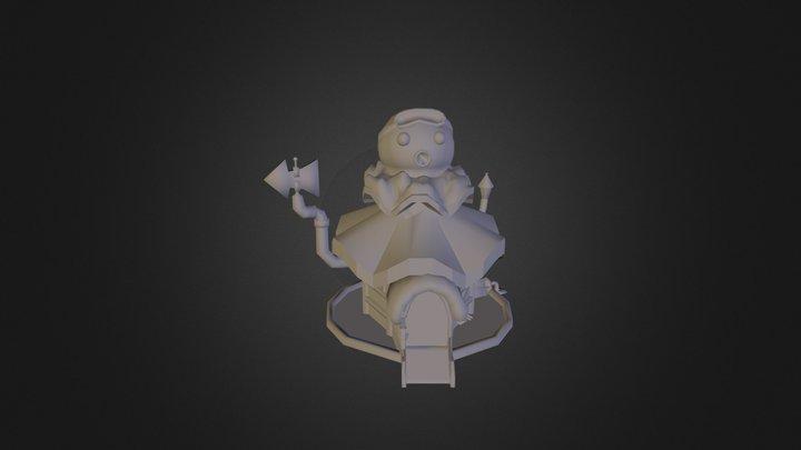 Cartoon Building 3 3D Model
