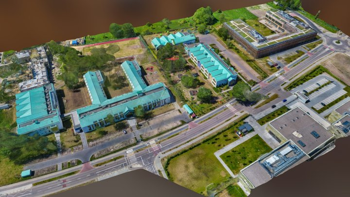 2018-05 Szkoly Willanow 3D Model