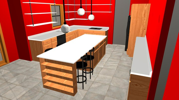 Ma-It Kitchen Mod1 3D Model