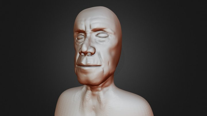 Old Man Speed Sculpt 3D Model