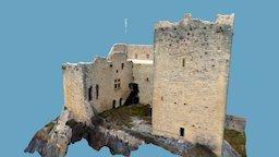 DRAFT Castle in France 3D Model
