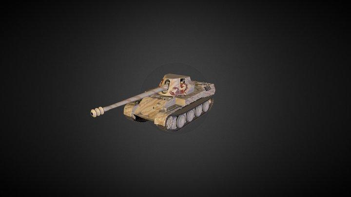 Rheinmetall Skorpion G 3D Model