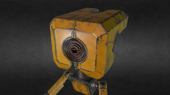 Robot model PBR 3D Model