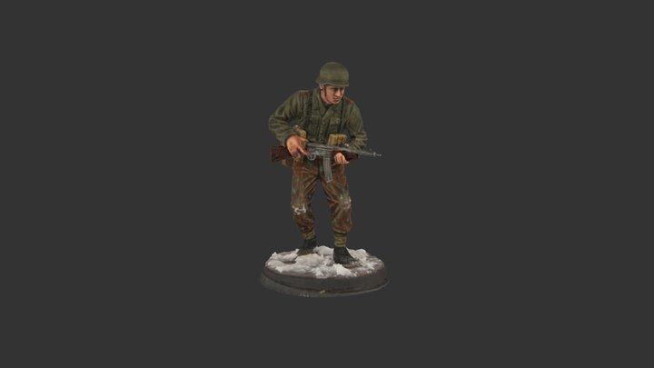 German 1945 berlin 02 3D Model