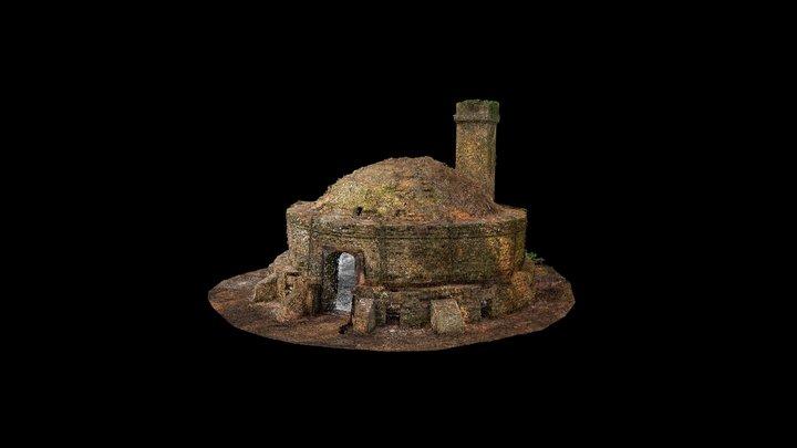 Bailey's Hard Brick Kiln 3D Model