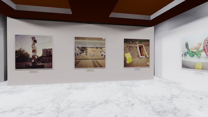 Instamuseum for @atartinst 3D Model