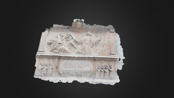 Bas Relief - Munich 3D Model