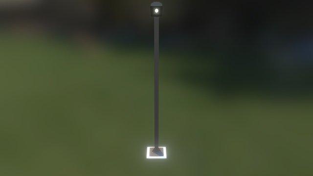 Poste Low Comp 3D Model