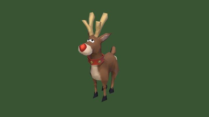 Reindeer_study 3D Model