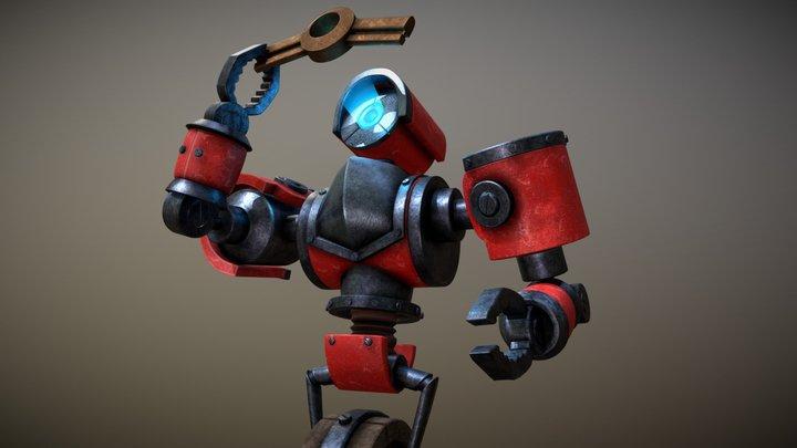 Eternium Rover 3D Model