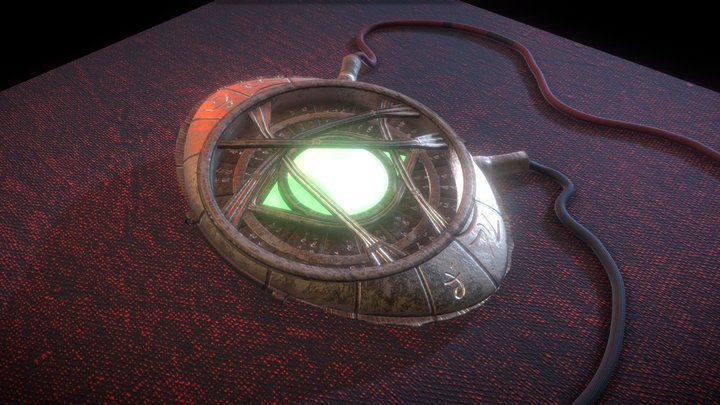 The Eye of Agamotto 3D Model