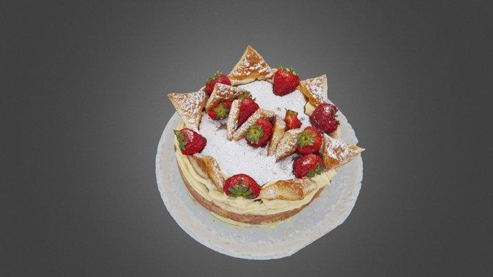 Torta Diplomatica 3D Model
