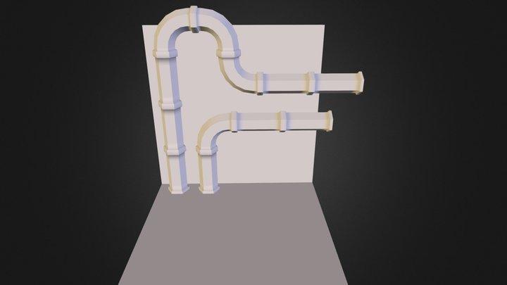 PipeScene 3D Model