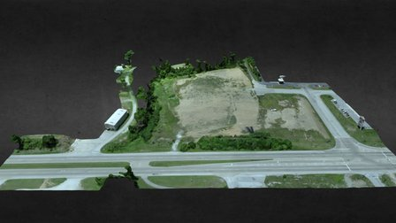 Kroger Fuel Center 2022 Roane State Hwy 3D Model