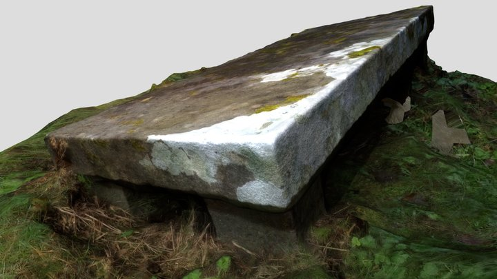 St Catherines Church, Killybegs - Grave Slab 3D Model
