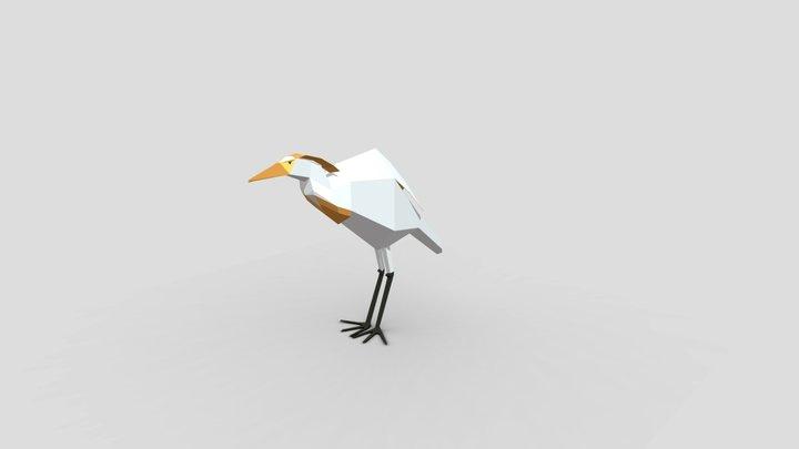 Aigrette 3D Model