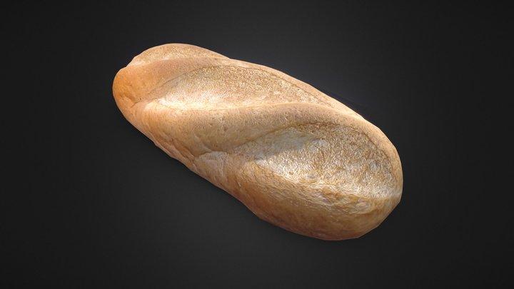 Bread Scan 3D Model