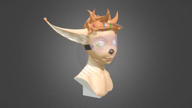 Pim bust FanArt 3D Model