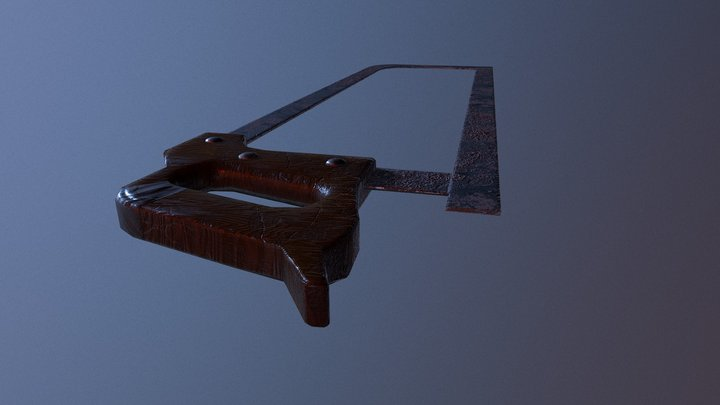 Saw 3D Model