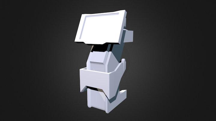Console 3D Model