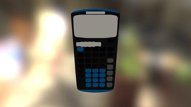 TI Calculator 3D Model