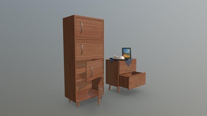 Cabinet1 3D Model