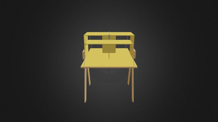 Patrol Kitchen Box 3D Model