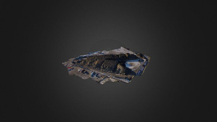 Compost and Wood Chip Piles – from PhotoModeler 3D Model