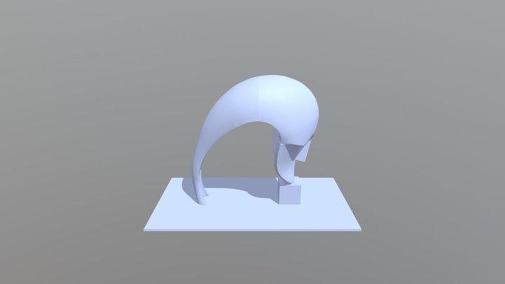 El Pensador de Martín Chirino ULPGC 3D Model