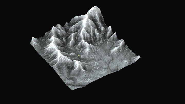 d6bcont100 3D Model