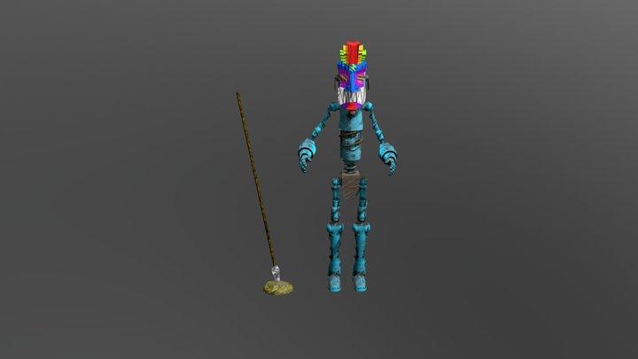 Robott 3D Model